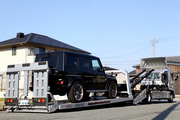 G63/AMG & ワンオフマフラー製作+インコネルカッター装着!!