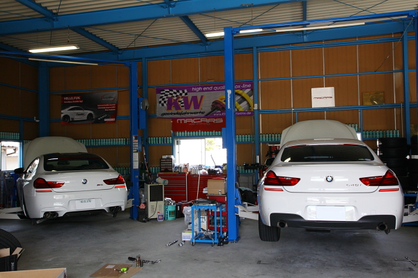 BMW F06/640iグランクーペ & KW+HYPER FORGED装着!!