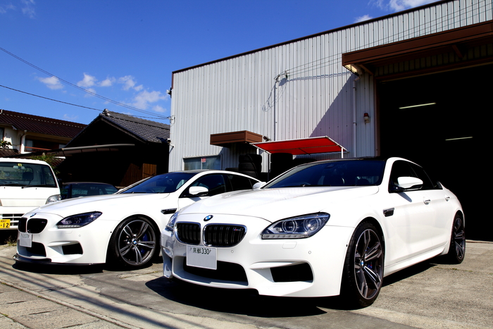 BMW F06/M6グランクーペご来店!!