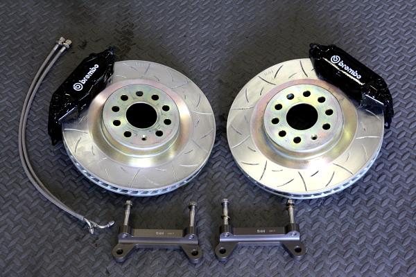 VW パサート3C & タイヤ交換+LAREYED SOUND+Brembo BBK装着!!