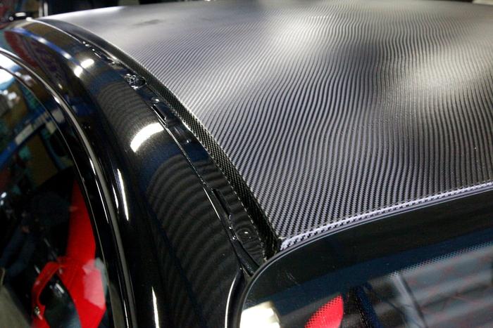 BMW M235i & カーボンフィルム施工+3Dデザイン カーボンサイドスカート+PEDAL BOX+aFe装着!!