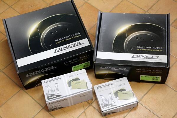 Audi A4/B8 & DIXCELローター・パッド交換+エンジンオイル交換!!