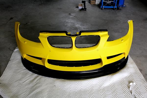 BMW E92/M3 & ボディ・ラッピングフィルム施工!!