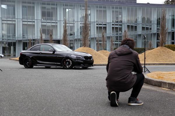 BMW F22/M235i取材・撮影 & PITに2階設置!!