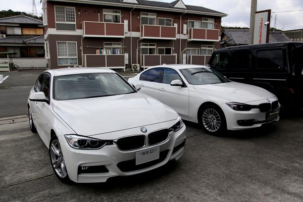 BMW F30/320 Xドライブ & KW V-2+コーディング変更!!