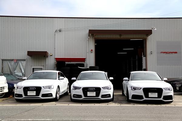 Audi A5/SB多数ご来店 & KW車高調装着!!