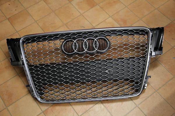 Audi A5/SB & RS5純正グリル装着+ワンオフマフラー製作!!