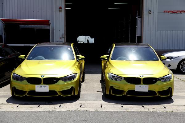 BMW F80/M3 & YUPITERU Z975Csd取付!!