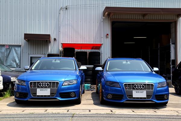 Audi S4/B8アバント パーツ移植のご依頼!!