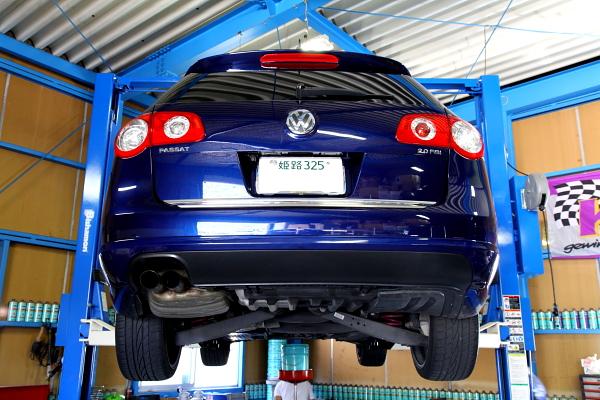 VW パサート3C & エンジン・ATFオイル交換+ドライブシャフトブーツ交換!!
