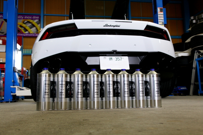 Lamborghini Huracan LP610-4 & オイル交換+コーディング変更!!