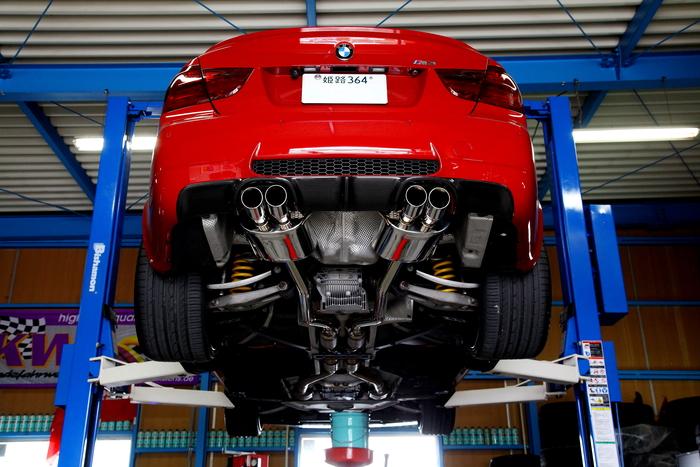 BMW E90/M3 & メンテナンス+カーボンスポイラー装着!!