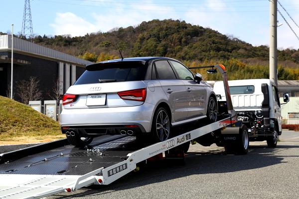 """Audi S1/8X S/B祝納車 & KW車高調+VOLK ZE40 18""""装着!!"""