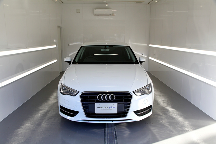Audi A3/8V & 新車納車+ガラスコーティング+コーディング変更!!
