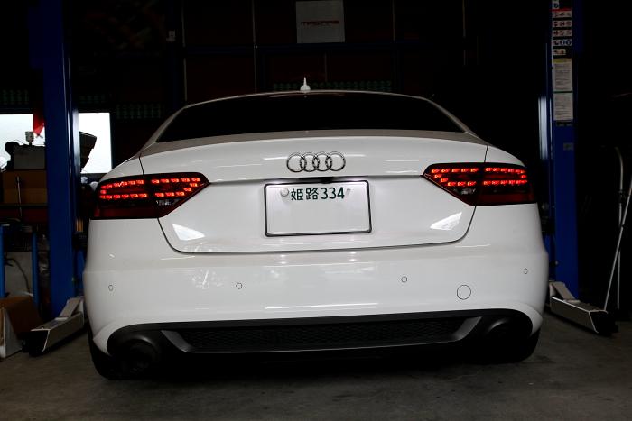 Audi A5/SB & 車検+メンテナンス!!