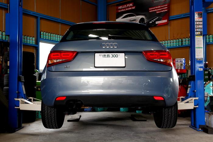Audi A1/8X & オイル交換+EZ LIP+コーディング変更!!