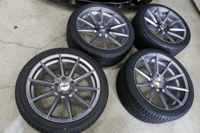 BMW F10/523 & TSW Clypse(クリプス) 19AW !!
