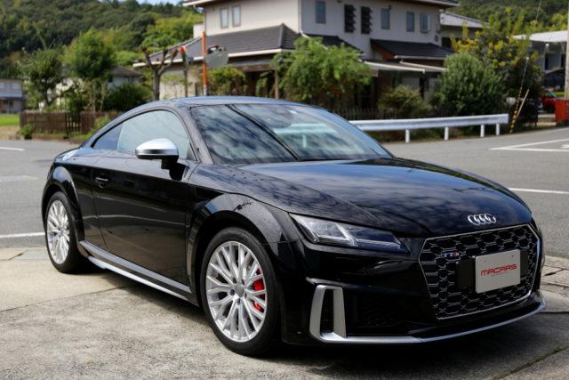 Audi TTS/8S後期 & KW V-3装着!!